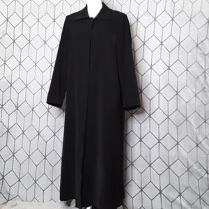 Anne Klein Long Dress Coat Size 6